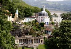 Portmeirion. Village stock photography