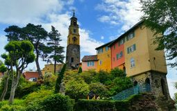 Portmeirion Architecture Stock Images