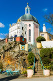 Portmeirion architecture, North Wales Stock Photo