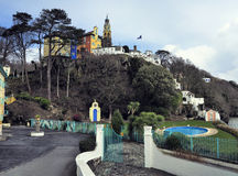 Portmeirion Buildings Stock Image