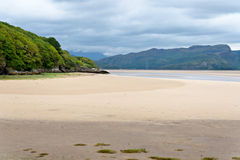 Portmeirion estuary in Wales Stock Photos