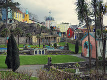 Portmeirion Gardens Stock Images
