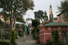 Portmeirion Hotel, The Village, North Wales Stock Image