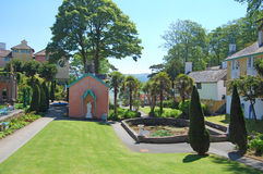 Portmeirion Plaza Royalty Free Stock Images