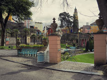 Portmeirion Scene Stock Photo