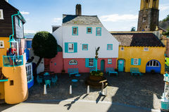 Portmeirion street, North Wales Royalty Free Stock Photography