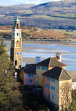 Portmeirion view 2 Stock Photography