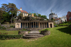 Portmeirion Village Stock Images
