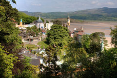 Portmeirion Village royalty free stock photo