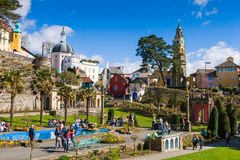 Portmeirion village, North Wales Royalty Free Stock Images