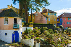 Portmeirion village, North Wales Royalty Free Stock Photos