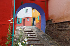 Portmeirion Wales, architecture and buildings. Royalty Free Stock Photography