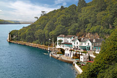 Portmeirion Waterfront. Portmeirion is situated on the estuary of the river Dwyryd in Gwynedd Wales, UK Royalty Free Stock Photography