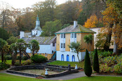 Portmerion Village Royalty Free Stock Images