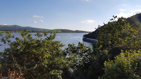 Portmerions-Mündung Wales Stockbilder
