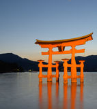 portmiyajima tori Arkivfoto