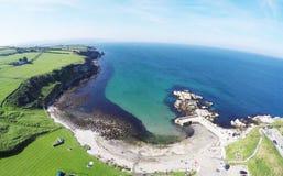 Portmuck Co Nordliga Antrim - Irland Arkivbild