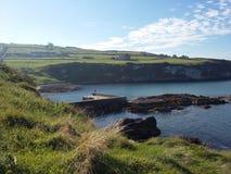 Portmuck schronienie, Co Antrim, Północny - Ireland Fotografia Royalty Free