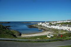 Portnahaven. On the isle of Islay in Scotland Stock Image