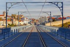 porto Мост Дон Луис Стоковое Фото