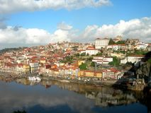 Porto. Panorama of the old city of Porto Royalty Free Stock Photo