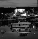 Porto ad ovest della baia Immagini Stock