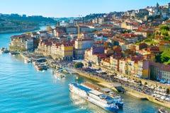 Porto aerial view, Portugal Stock Photo