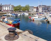 Porto al barbacane Plymouth Fotografia Stock