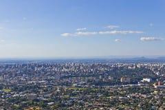 Porto Alegre cityview Stock Foto