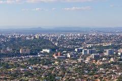 Porto Alegre cityview Stock Afbeeldingen