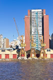 Porto Alegre port Stock Photography