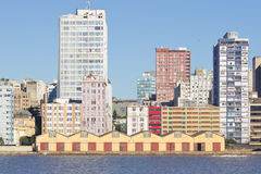 Porto Alegre Port - Rio Grande do Sul - Brasil Imagem de Stock Royalty Free