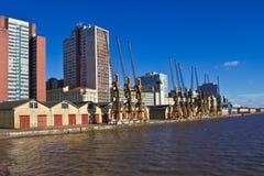 Porto Alegre Port - Rio Grande doe Sul - Brazilië Stock Afbeeldingen