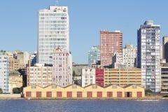 Porto Alegre port - rio grande robi Sul, Brazylia - Obraz Royalty Free