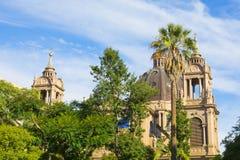 Porto Alegre, Río Grande del Sur, el Brasil: Catedral metropolitana de nuestra señora Mother de dios foto de archivo libre de regalías
