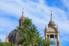 Porto Alegre, Río Grande del Sur, el Brasil: Catedral metropolitana de nuestra señora Mother de dios imagen de archivo libre de regalías