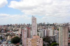 Porto Alegre, Rio Grande doet Sul, Brazilië stock fotografie