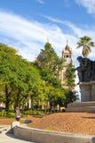 Porto Alegre, Rio Grande faz Sul, Brasil: Catedral metropolitana de nossa senhora Mother do deus fotos de stock