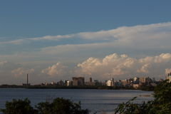 Porto Alegre Skyline, Brasil Fotos de Stock