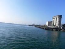 Porto alla costa africana orientale Fotografia Stock