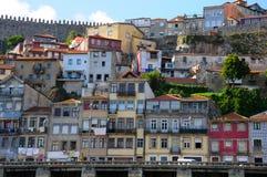 Porto-Ansicht vom Boot Stockbild