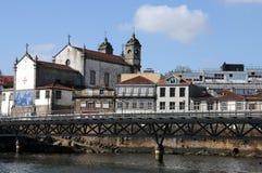 Porto, Ansicht vom Boot Lizenzfreie Stockfotografie