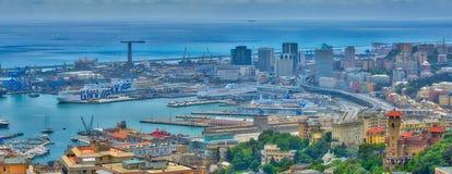 Porto antico di Genova immagini stock libere da diritti