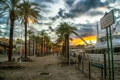 Porto Antico Genoa Foto de Stock
