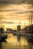 Porto Antico Genua Stockfotografie