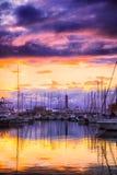 Porto Antico Genua Lizenzfreies Stockbild