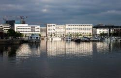 Porto a Anversa Fotografie Stock