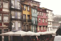 Porto Apartments stock image