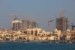 Porto Arábia. A pérola, Doha Imagens de Stock