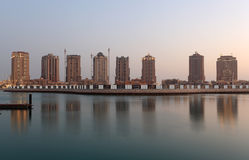 Porto Arabia in Doha, Qatar Royalty Free Stock Image